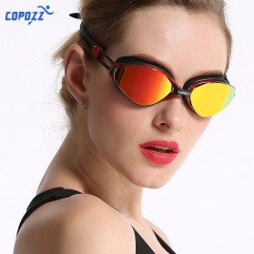 Kacamata Renang Anti Fog UV Protection - GOG-3551 - Red - 3