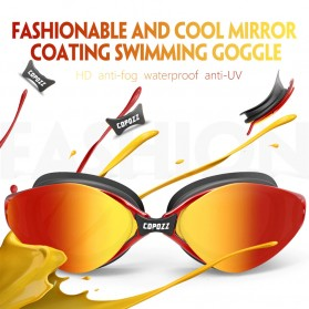 Kacamata Renang Anti Fog UV Protection - GOG-3551 - Red - 5