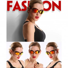 Kacamata Renang Anti Fog UV Protection - GOG-3551 - Red - 6