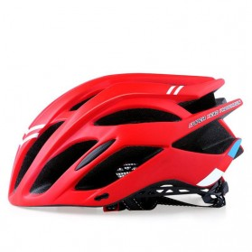 Bikeboy Helm Sepeda Ultralight Breathable Bicycle Cycling Helmet - 008A - Red