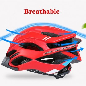 Bikeboy Helm Sepeda Ultralight Breathable Bicycle Cycling Helmet - 008A - Red - 2
