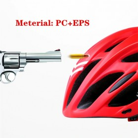 Bikeboy Helm Sepeda Ultralight Breathable Bicycle Cycling Helmet - 008A - Red - 3