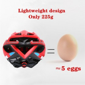 Bikeboy Helm Sepeda Ultralight Breathable Bicycle Cycling Helmet - 008A - Red - 4