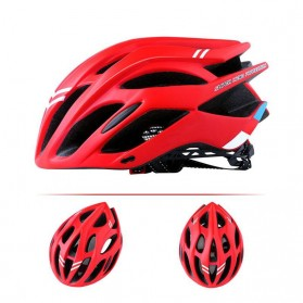 Bikeboy Helm Sepeda Ultralight Breathable Bicycle Cycling Helmet - 008A - Red - 5