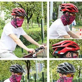 Bikeboy Helm Sepeda Ultralight Breathable Bicycle Cycling Helmet - 008A - Red - 6