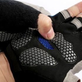 HUWAI Sarung Tangan Sepeda Cycling Sport Riding Gloves Half Finger XL - HW-172 - Orange - 5