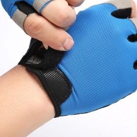 HUWAI Sarung Tangan Sepeda Cycling Sport Riding Gloves Half Finger XL - HW-172 - Orange - 6