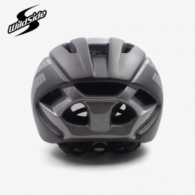 CAIRBULL Helm Sepeda Magnetic Visor Removable Lens - Size L (NO LOGO) - Black/Gray - 5