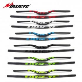 ULLICYC MTB Bicycle Handlebar Sepeda Carbon Fiber 740mm - CB186 - Yellow - 2