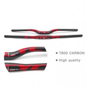 ULLICYC MTB Bicycle Handlebar Sepeda Carbon Fiber 740mm - CB186 - Yellow - 3