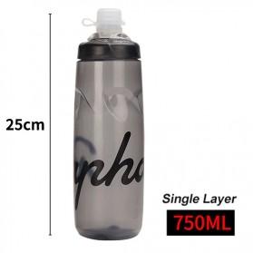 Rapha Botol Minum Olahraga Sepeda Sport Bicycle Bottle 750ml - YP072 - Gray