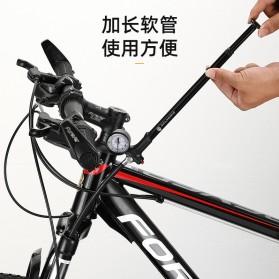 CYCLINGBOX Pompa Angin Ban Sepeda Portable 120PSI - BG-1611 - Black - 2