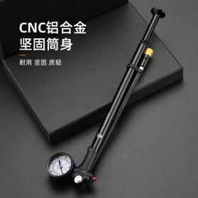 CYCLINGBOX Pompa Angin Ban Sepeda Portable 120PSI - BG-1611 - Black - 4