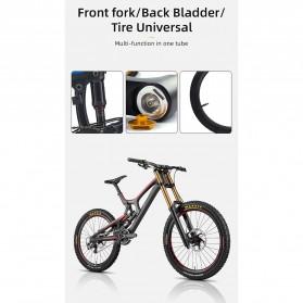 CYCLINGBOX Pompa Angin Ban Sepeda Portable 120PSI - BG-1611 - Black - 7