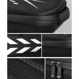 Wildman Tas Sepeda Handlebar Bag Eva Hard Case Waterproof - BG-0812 - Black - 10