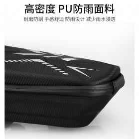 Wildman Tas Sepeda Handlebar Bag Eva Hard Case Waterproof - BG-0812 - Black - 7