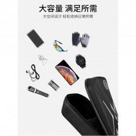 Wildman Tas Sepeda Handlebar Bag Eva Hard Case Waterproof - BG-0812 - Black - 9