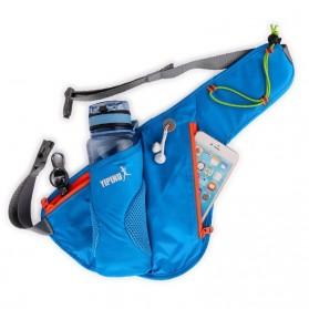 YIPINU Tas Pinggang Olahraga Lari Running Bag dengan Holder Botol - RUN031A - Black - 2