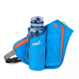 YIPINU Tas Pinggang Olahraga Lari Running Bag dengan Holder Botol - RUN031A - Black - 3