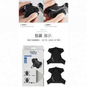 Richy Cover Pelindung Pedal Sepeda Anti-Slip for Shimano SPD-SL - 1232 - Black