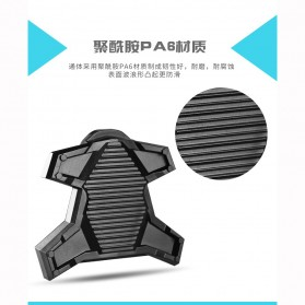 Richy Cover Pelindung Pedal Sepeda Anti-Slip for Shimano SPD-SL - 1232 - Black - 2