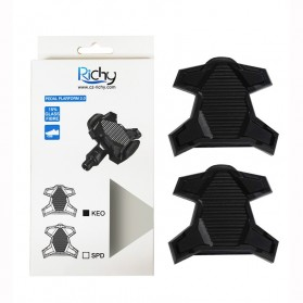Richy Cover Pelindung Pedal Sepeda Anti-Slip for Shimano SPD-SL - 1232 - Black - 5