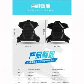 Richy Cover Pelindung Pedal Sepeda Anti-Slip for Shimano SPD-SL - 1232 - Black - 8