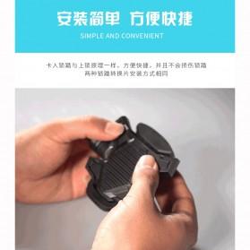 Richy Cover Pelindung Pedal Sepeda Anti-Slip for Shimano SPD-SL - 1232 - Black - 11