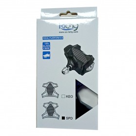 Richy Cover Pelindung Pedal Sepeda Anti-Slip for Shimano SPD-SL - 1232 - Black - 12