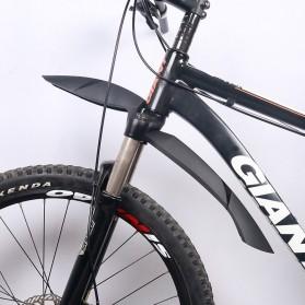 Deemount Spakbor Sepeda Depan & Belakang MTB Bicycle Mudguard - MDG-007 - Black - 3