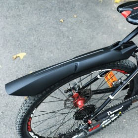 Deemount Spakbor Sepeda Depan & Belakang MTB Bicycle Mudguard - MDG-007 - Black - 5