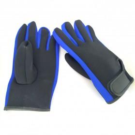 OZERO Sarung Tangan Mobil Racing Glove SBR Pad Size M - OZ911 - Black - 2