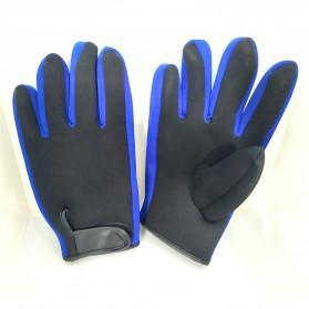 OZERO Sarung Tangan Mobil Racing Glove SBR Pad Size M - OZ911 - Black - 4
