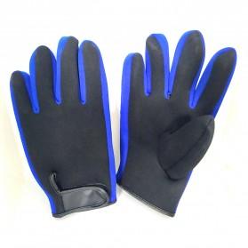 OZERO Sarung Tangan Mobil Racing Glove SBR Pad Size M - OZ911 - Black - 5