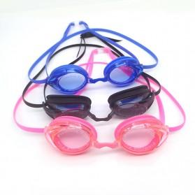 Navex Kacamata Renang Anti Fog UV Protection - NV1601 - Black - 2
