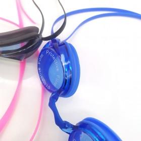 Navex Kacamata Renang Anti Fog UV Protection - NV1601 - Black - 4