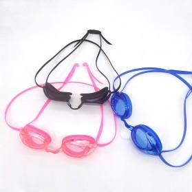 Navex Kacamata Renang Anti Fog UV Protection - NV1601 - Black - 8