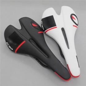 YAFEE Sadel Sepeda Wear Resistant PU Leather - EC90 - Black - 4