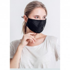 TCARE Masker Activated Carbon Breathable Bicycle Mask PM 2.5 Anti Pollution - 311 - Black - 3