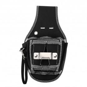 NICEYARD Tas Pinggang Perkakas Tukang Serbaguna Waist Pocket Tool Bag - 15020 - Black/Red - 2