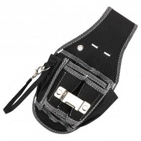NICEYARD Tas Pinggang Perkakas Tukang Serbaguna Waist Pocket Tool Bag - 15020 - Black/Red - 3