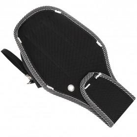 NICEYARD Tas Pinggang Perkakas Tukang Serbaguna Waist Pocket Tool Bag - 15020 - Black/Red - 4