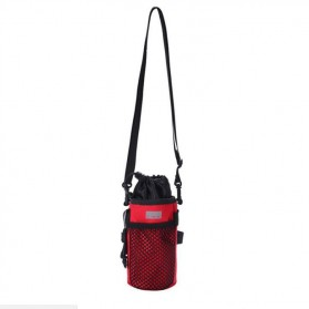 Dovewill Tas Botol Minum Stang Sepeda Cycling Rear Pouch Bag - B081 - Black - 2