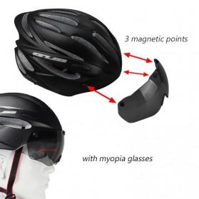 GUB Helm Sepeda Cycling Visor Aero EPS Magnetic Removable Lens - K80 Plus - Black/Purple - 5