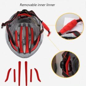 GUB Helm Sepeda Cycling Visor Aero EPS Magnetic Removable Lens - K80 Plus - Black/Purple - 6