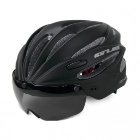 GUB Helm Sepeda Cycling Visor Aero EPS Magnetic Removable Lens - K80 Plus - Black