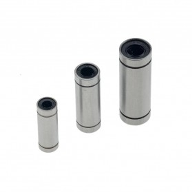 VENSTPOW Linear Bearings CNC 15mm for Rods Rail Shaft Parts 4 PCS - LM8UU - Silver - 3