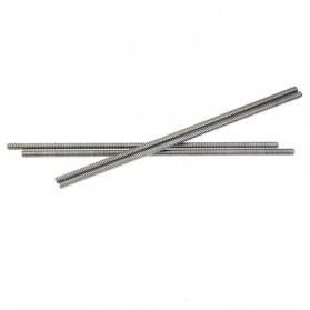 VENSTPOW 3D Printer CNC Trapezoidal Rod Screw Thread 2mm 400mm - T8 - Silver - 2
