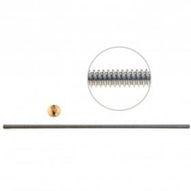VENSTPOW 3D Printer CNC Trapezoidal Rod Screw Thread 2mm 400mm - T8 - Silver - 4