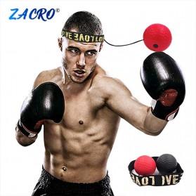 Jusenda Punching Reflex Ball Samsak Tinju Boxing Speed Punching Reaction Agility Training 20g - DS212 - Black - 2